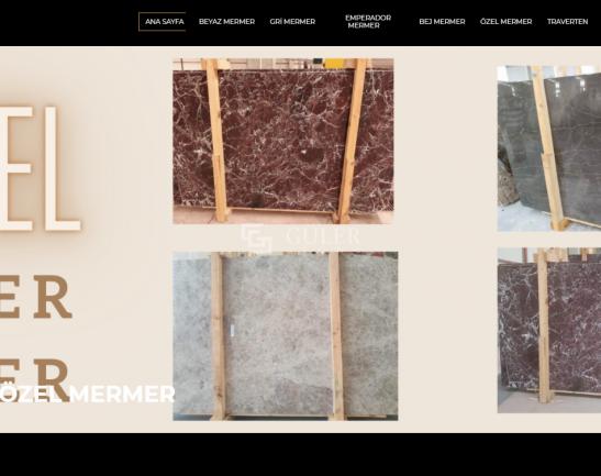 gulerstone-portfolio-web-sitesi